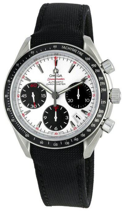 [オメガ]OMEGA 腕時計 スピードマスター ホワイト文字盤 323.32.40.40.04.001 メンズ・お取寄