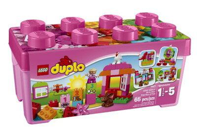 LEGO(レゴ) Duplo Creative Play All-in-One-Pink-Box-of-Fun デュプロ ピンクのコンテナデラックス - 10571・お取寄