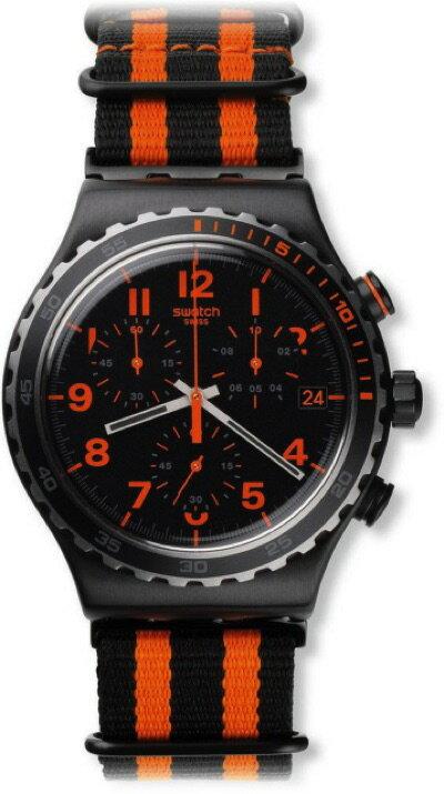 スウォッチ SWATCH NEW IRONY CHRONO(ニューアイロニークロノ) GAROSUGIL(カロスキル) YVB401 メンズ 腕時計・お取寄