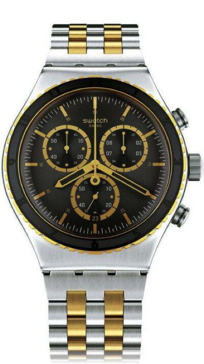 スウォッチ SWATCH NEW IRONY CHRONO(ニュー アイロニー クロノ) SOBRO(ソブロー) YVS403G メンズ 腕時計・お取寄