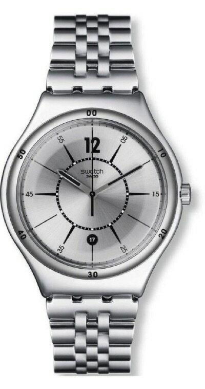 スウォッチ SWATCH IRONY BIG CLASSIC(アイロニービッグ クラシック) MOONSTEP (ムーンステップ) YWS406G メンズ 腕時計・お取寄