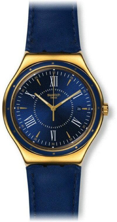 スウォッチ SWATCH IRONY BIG CLASSIC(アイロニービッグ クラシック) MOONSHINE ON WATER (ムーンシャイン・オン・ウォーター) YWG400 メンズ 腕時計・お取寄