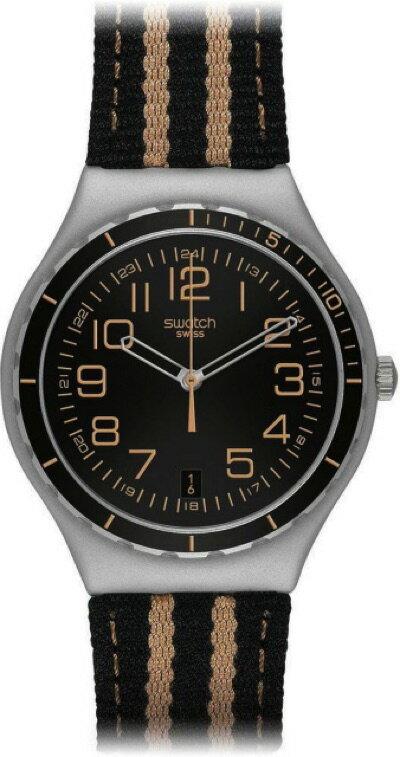 スウォッチ SWATCH IRONY BIG(アイロニー ビッグ) LE COMPTE DE LIGNES(ル・コンテ・ド・リンズ) YGS4033 メンズ 腕時計・お取寄
