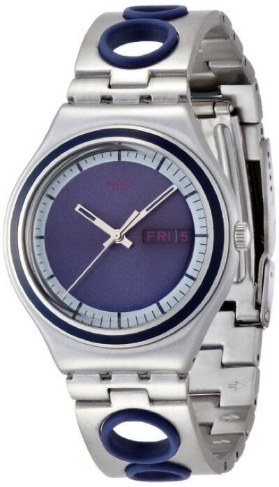 スウォッチ SWATCH IRONY BIG(アイロニービッグ) PORTHOLE(ポートホール) YGS771G メンズ 腕時計・お取寄