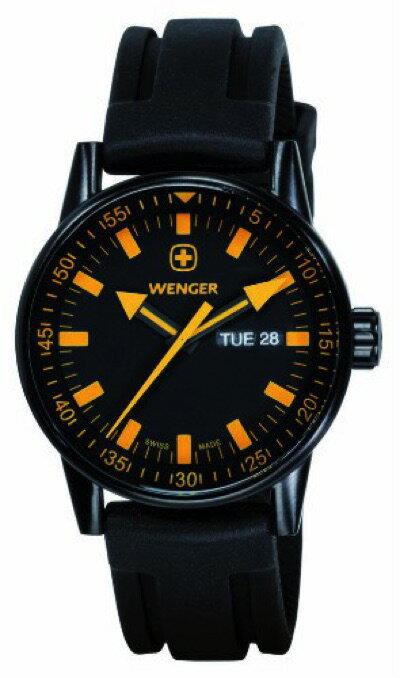 ウェンガー WENGER コマンドブラックライン 70173 メンズ 腕時計・お取寄