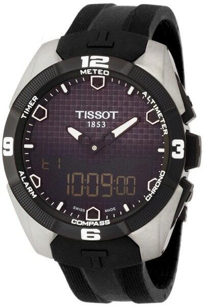ティソ TISSOT 腕時計 T-Touch Expert Solar(ティータッチ エキスパート ソーラー) T0914204705100 メンズ 腕時計・お取寄