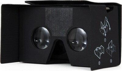 3D VRゴーグル 軽量 組立式 6インチ迄 スマホ用 Case-Mate Google Cardboard VR 2.0 Black Cm033764・お取寄