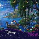 トーマス・ キンケード ディズニー リトルマーメイド2 ジグソーパズル 750ピース Thomas Kinkade Disney Dreams The Litt...