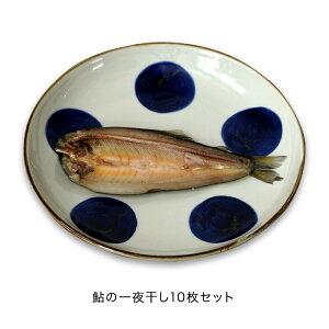 鮎 干鮎 一夜干し 10枚 焼いてご飯のお供に ギフト 天然仕立て 朝食 ゆっくり熟成 送料無料 さくらフィッシュ SAKURA FISH 栃木県 荒川養殖