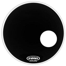"""【今だけポイント5倍!1月28日9時59分まで】EVANS ドラムヘッド BD24RONX/24"""" EQ3 Resonant Bass Onyx【エヴァンス エバンス EQ3 レゾナントオニキス】"""