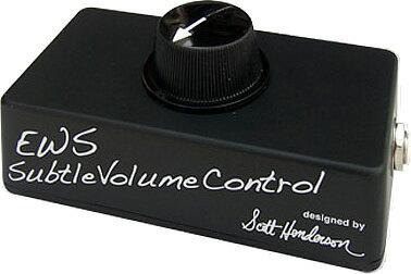 E.W.S. ボリュームコントローラー SUBTLE VOLUME CONTROL (SVC)【スコット・ヘンダーソンのアイデアに基づき誕生したディバイス!】【エフェクター】