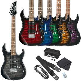 GIO Ibanez ジオアイバニーズ エレキギター GRX70QA (ソフトケース、Ibanezアクセサリー・キット付属)*