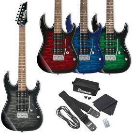 GIO Ibanez ジオアイバニーズ エレキギター GRX70QA (ソフトケース、Ibanezアクセサリー・キット付属)