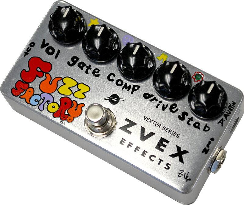 ZVEX エフェクター FuzzFactory Vexter Series【ズィーベックス】【ピック10枚セット付き!】【エフェクター】