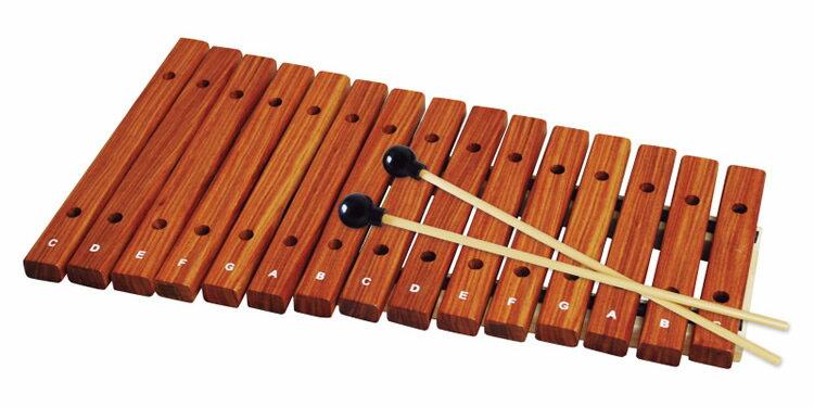 【クーポンで7%オフ!5月27日9時59分まで】木琴 15音 KXP-15 [KXP15 シロフォン ザイロフォン 子供用楽器 XYLOPHONE]