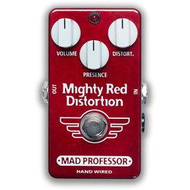 【ピック10枚セット付き!】MAD PROFESSOR エフェクター Mighty Red Distortion HW (HAND WIRED) マイティーレッド ディストーション 【マッドプロフェッサー ハンドワイヤード】