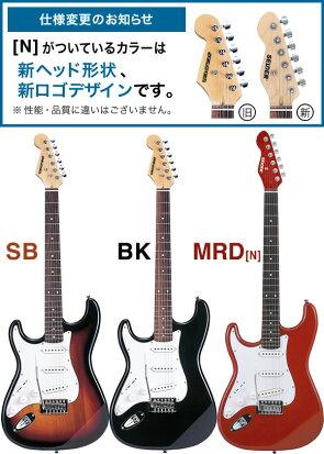 左利き用エレキギターSELDERST-23LH13点入門セット
