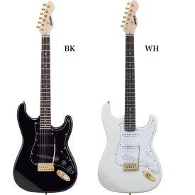 エレキギター SELDER STG-18 (本体のみ/ソフトケース付属)【欠品・予約カラー:10月末頃入荷予定】【エレキギター ゴールドパーツ セルダー 初心者 入門 STG18】