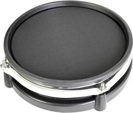 MEDELI 電子ドラム DD-710JM専用 交換用メッシュ・タムパッド【DD710JM BK/drum pad】