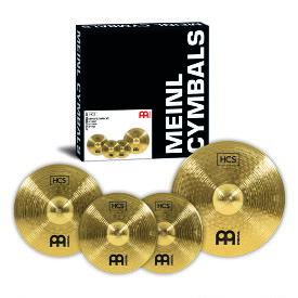 "MEINL シンバル HCS シリーズ シンバルセット Complete Cymbal Set-up 14""Hihat/16""Crash/20""Ride HCS141620【マイネル】"