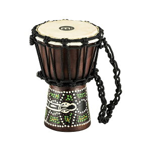 MEINL ミニジャンベ African Style Mini Djembe HDJ6-XXS Dark Serpent Design 【マイネル パーカッション】