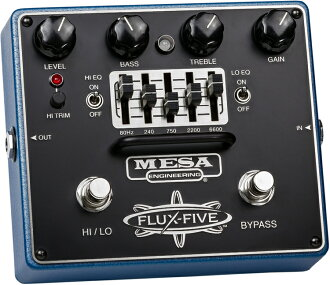 Mesa/Boogie(台地·bugi)效應器The FLUX-FIVE[overdrive]