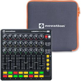 NOVATION MIDIコントローラー Launch Control XL MKII【Ableton Live Lite付属】+専用スリーブ【ノベーション】【Launch Control XL、LaunchPad&Control Sleeve】【欠品・予約:次回入荷未定】*
