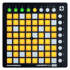 【今だけポイント5倍!1月28日9時59分まで】NOVATION MIDIコントローラー LaunchPad Mini MK2【Ableton Live Lite付属】【ノベーション グリッドコントローラー ランチパッドミニ2】