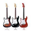 エレキギター 左利き用 SELDER ST-23LH (本体のみ)【エレキギター セルダー レフトハンド 初心者 入門 ST23LH】