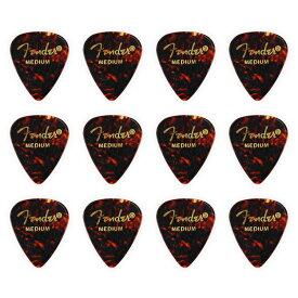Fender フェンダー ピック ティアドロップ MEDIUM/SHELL(ミディアム/シェル) 12枚 [並行輸入品]【フェンダー ピック】【ゆうパケット対応】