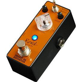 【今だけポイント5倍!3月11日9:59まで】RevoL effects ORANGE OIL DISTORTION (オレンジオイルディストーション) EDS-01【レヴォル レボル エフェクツ エフェクター EDS01】