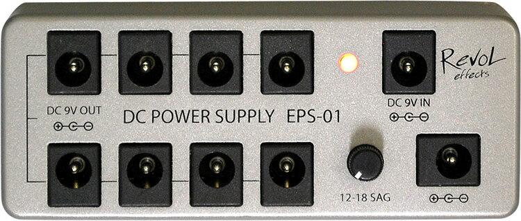 RevoL effects DC POWER SUPPLY SET (パワーサプライ) EPS-01SET【レヴォル レボル エフェクツ エフェクター EPS01SET】