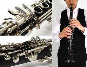 Soleilクラリネット初心者入門セットSCL-1[B♭]【ソレイユSCL1管楽器】