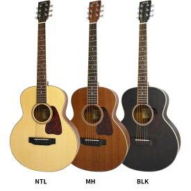 【今だけラッピング袋付き!】S.Yairi コンパクトアコースティックギター YM-03 単品【ヤイリ 子供・女性 YM03 ミニギター】【大型】