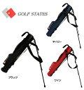 GOLF STATES(ゴルフステーツ) セルフスタンド付きクラブケース GSCC-2020 ナイロンスタンドバッグ