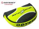 ODYSSEY(オデッセイ) メタル X ミルド ハーフマレットタイプ 純正パターカバー METAL X MILLED