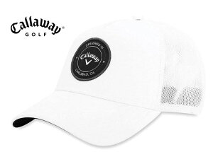 Callaway(キャロウェイ) パッチロゴ ゴルフキャップ トラッカー スナップバック ホワイト USモデル HW CG TA TRUCHER ADJ 19