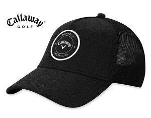 Callaway(キャロウェイ) パッチロゴ ゴルフキャップ トラッカー スナップバック ブラック USモデル HW CG TA TRUCHER ADJ 19