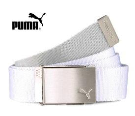 PUMA GOLF(プーマゴルフ) リバーシブル ウェブ ゴルフベルト ブライトホワイト #054044 01 USモデル REVERSIBLE WEB GOLF BELT