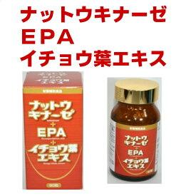 ナットウキナーゼ 90粒 納豆菌培養エキス EPA イチョウ葉エキス
