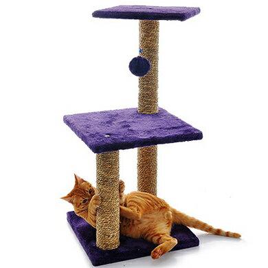 【選べる3色】キャットタワー 高さ約70cm 猫 ねこ 据え置き おしゃれ ハンモック 爪とぎ 多頭飼い 補助ステップ ハウス付 マンション リビング 変形対応 コーナー対応 ワイド 大型 ペット用品 ペット