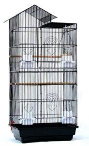 角屋根/大型バードゲージ【鳥かご 鳥小屋 鳥カゴ】□