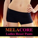 メラコア レディースボクサーパンツ(MELACORE Ladies Boxer Pants ダイエット ボディケア パンツ ハーブ ダイエットウェア)