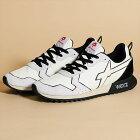 スニーカー靴メンズウィズW6YZホワイトブラック白黒イタリアWI191-10037JET