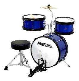 MAXTONE MX-60/BLU ジュニア ドラムセット【送料無料】【smtb-TK】