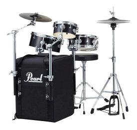 Pearl RT-703/C No.31 Jet Black オール・イン・ワン・パッケージ ドラムセット リズムトラベラー Rhythm Traveler Black Box【送料無料】【smtb-TK】【ポイント5倍】