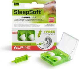 ALPINE Sleep Soft MINI GRIP 安眠用 イヤープロテクター 耳栓 【smtb-TK】【ポイント2倍】【メール便発送・全国送料無料・代金引換不可】