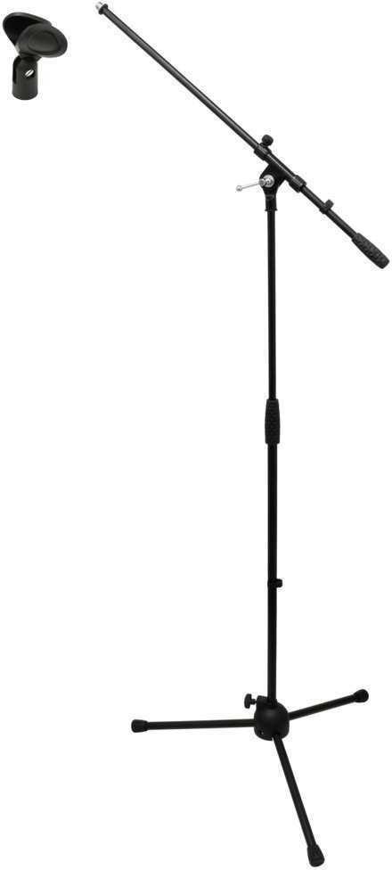 【ポイント2倍】【送料無料】アリア Aria MIS-101B+MIS-S ブーム/ストレート両用マイクスタンド+マイクホルダー【smtb-TK】