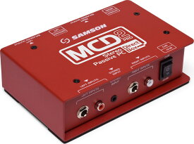 【ポイント2倍】【送料無料】サムソン SAMSON ESAMCD2PRO MCD2 Pro ステレオ・パッシブ・ダイレクトボックス DI【smtb-TK】