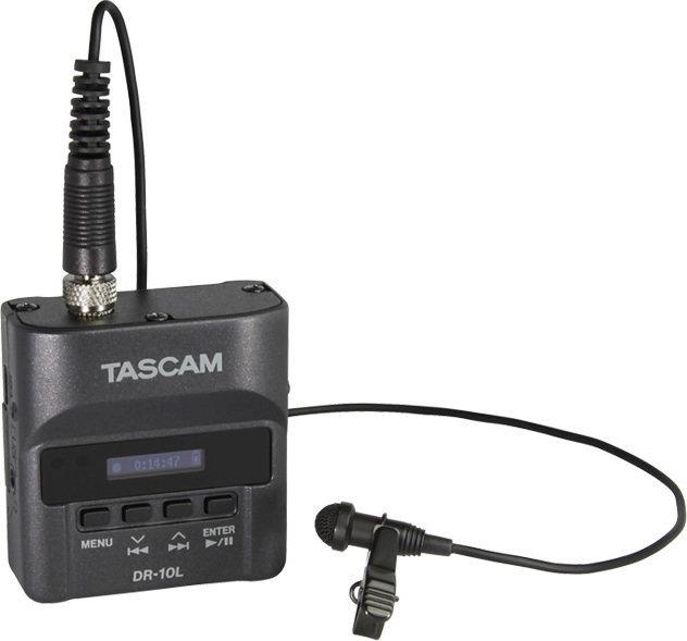 【ポイント2倍】【送料無料】タスカム TASCAM DR-10L 声を録るなら、この1台。身に着けられるピンマイクレコーダー【smtb-TK】
